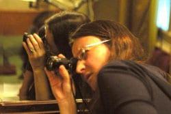 Lucrecia Martel en tournage