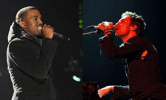 Kanye West y Chris Martin