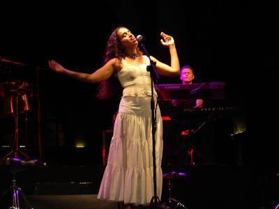 La cantante israelí Noa