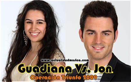 Guadiana y Jon OT 2009