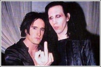 Trent Reznor - Marilyn Manson