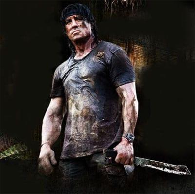 Amigos me voy del juego RamboV