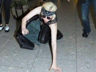 gaga Lady Gaga: un tropezón es caída