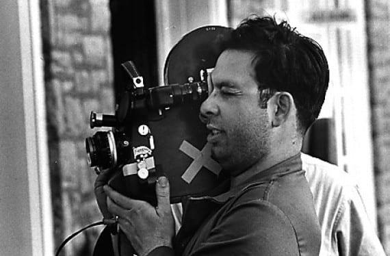 "Francis Ford Coppola en el rodaje de ""Dementia 13"""