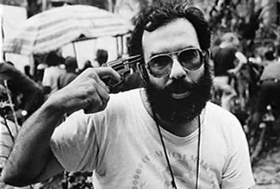 """Coppola en el rodaje de """"Apocalypse Now"""""""