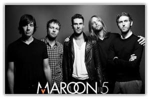 Maroon 5 con Adam Levine a la cabeza