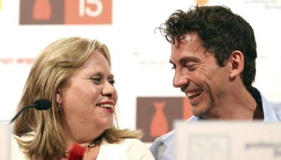 Paco León y su madre Carmina Barrios