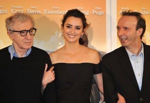Woody Allen presentó su nueva película