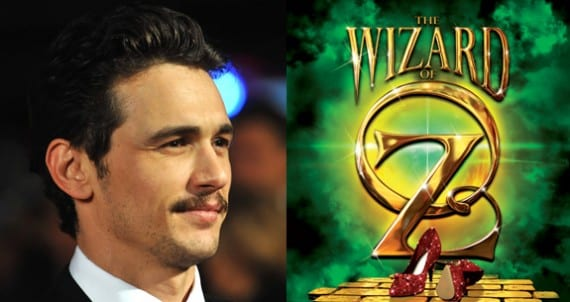 James Franco y Oz Great and Powerful