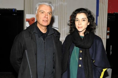 David Byrne y St. Vicent juntos en un album