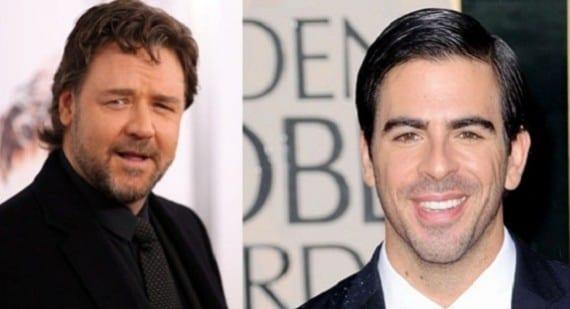 Russell Crowe y Eli Roth