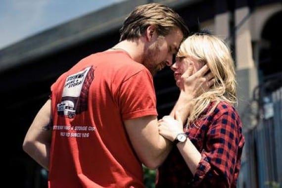 Ryan Gosling con Michelle Williams en Blue Valentine