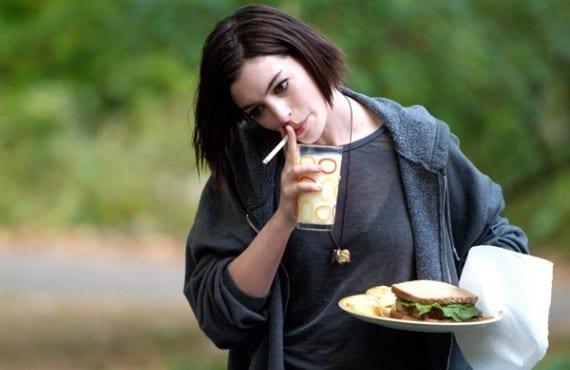 Anne Hathaway en La boda de Rachel