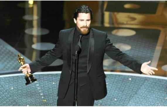 Christian Bale Oscar por The Fighter