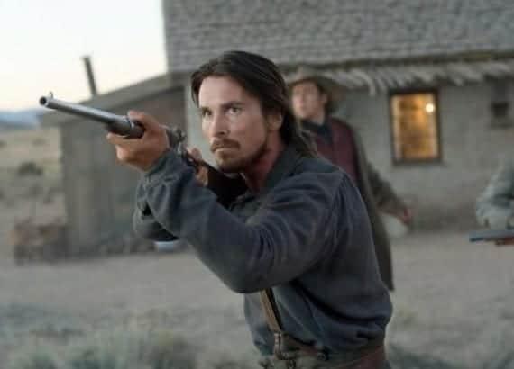 Christian Bale en El tren de las 3.10
