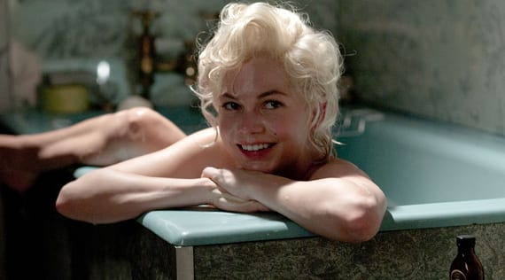 Michelle Williams en My Week with Marilyn