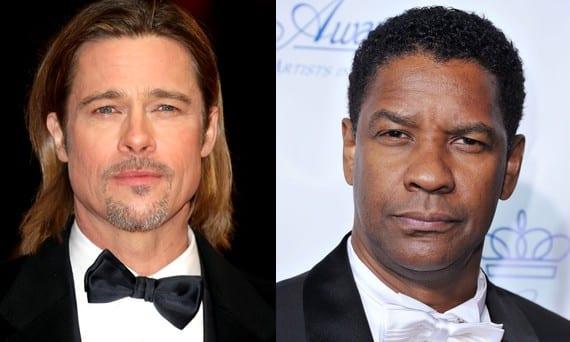 Brad Pitt y Denzel Washington