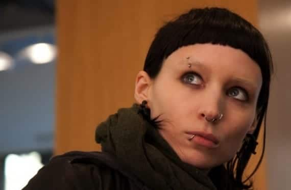 Rooney Mara en The Girl with the Dragon Tatoo