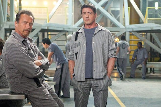 Stallone y Schwarzenegger