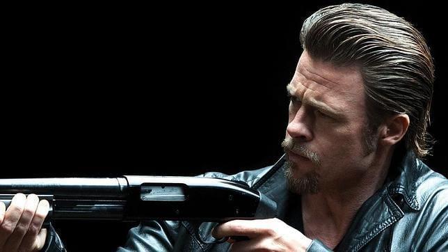 Brad Pitt en la película 'Mátalos suavemente'.