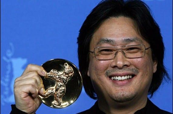 Park Chan-wook con el Premio Alfred Bauer