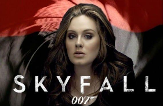 Adele canta el tema principal de Skyfall