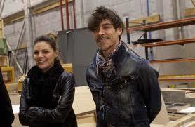 Amaia Salamanca y Óscar Jaenada en ¡Atraco!