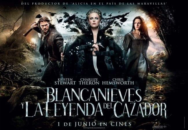 """""""Blancanieves y la leyenda del cazador"""", llega al mercado del DVD."""