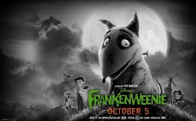 'Frankenweenie' de Tim Burton.