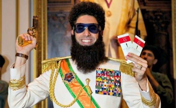 Sacha Baron Cohen El dictador