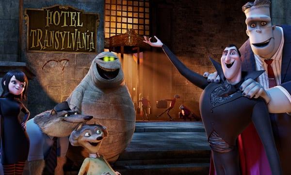 Escena del film de 'Hotel Transilvania'.