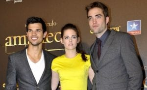 Kristen Stewart, Robert Pattinson y Taylor Lautner presentan 'La saga Crepúsculo: Amanecer - Parte 2'