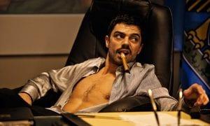"""Dominic Cooper en """"El doble del diablo""""."""