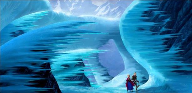 Imagen de 'Frozen', lo nuevo de Disney.