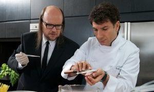 """Santiago Segura y Michäel Youn en """"El chef, la receta de la felicidad"""""""