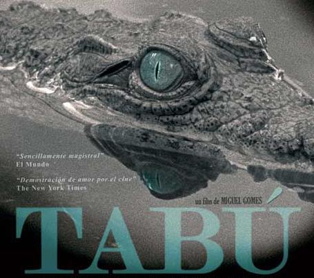 Cartel de 'Tabú' de Miguel Gomes.