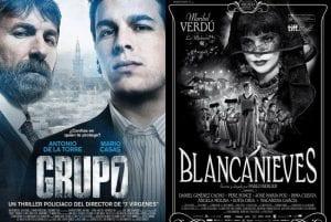 'Grupo 7' y 'Blancanieves' son las dos películas más nominadas