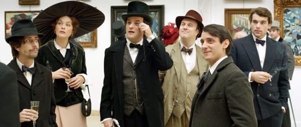 Mateos, Bénézit, Agogué y Vilches en 'La banda Picasso'.