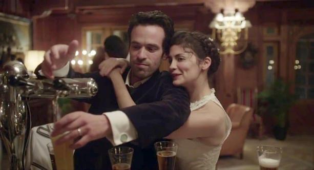'L'écume des jours'  con Romain Duris y Audrey Tautou