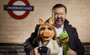 El mismo equipo que rodó 'Los Muppets' en 2011 ha vuelto a reunirse para el rodaje en Londres de 'Muppets Again'.