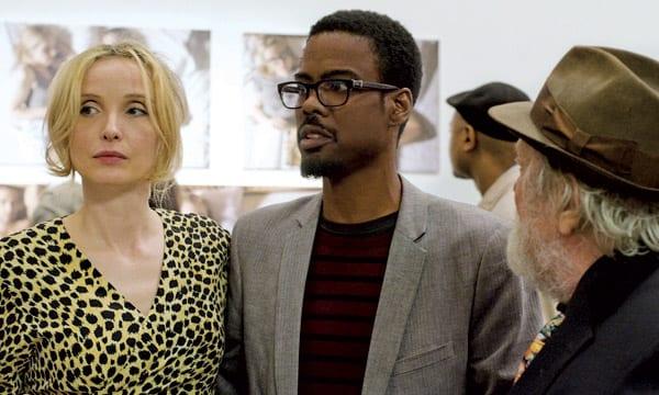 Julie Delpy y Chris Rock en '2 días en Nueva York'.