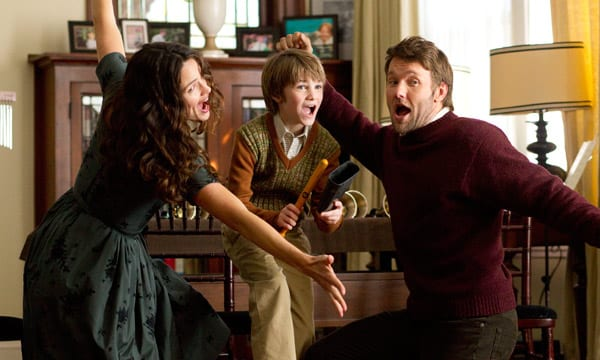 Jennifer Garner, C.J. Adams y Joel Edgerton en 'La extraña vida de Timothy Green'.