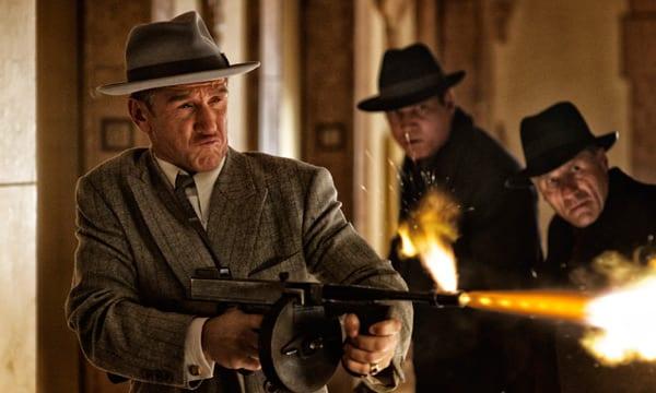 "Sean Penn en ""Gangster squad"""