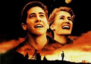 Un joven Jake Gyllenhaal y Laura Dern en 'Cielo de octubre' de Joe Johnston.