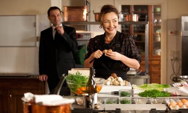 Catherine Frot en 'La cocinera del presidente' de Christian Vincent.