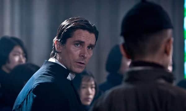 """Christian Bale en una escena de  """"Las flores de la guerra""""."""