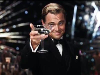 DiCaprio en El gran Gatsby