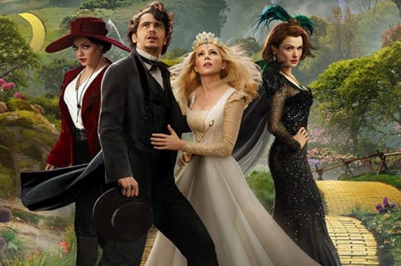 'Oz, un mundo de fantasía', dirigida por Sam Raimi.