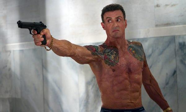 """Stallone en """"Una bala en la cabeza"""" de Walter Hill."""