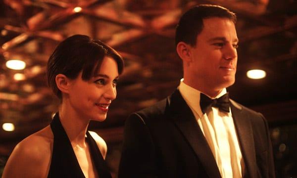 "Channing Tatum y Rooney Mara en ""Efectos secundarios (Side effects)"""